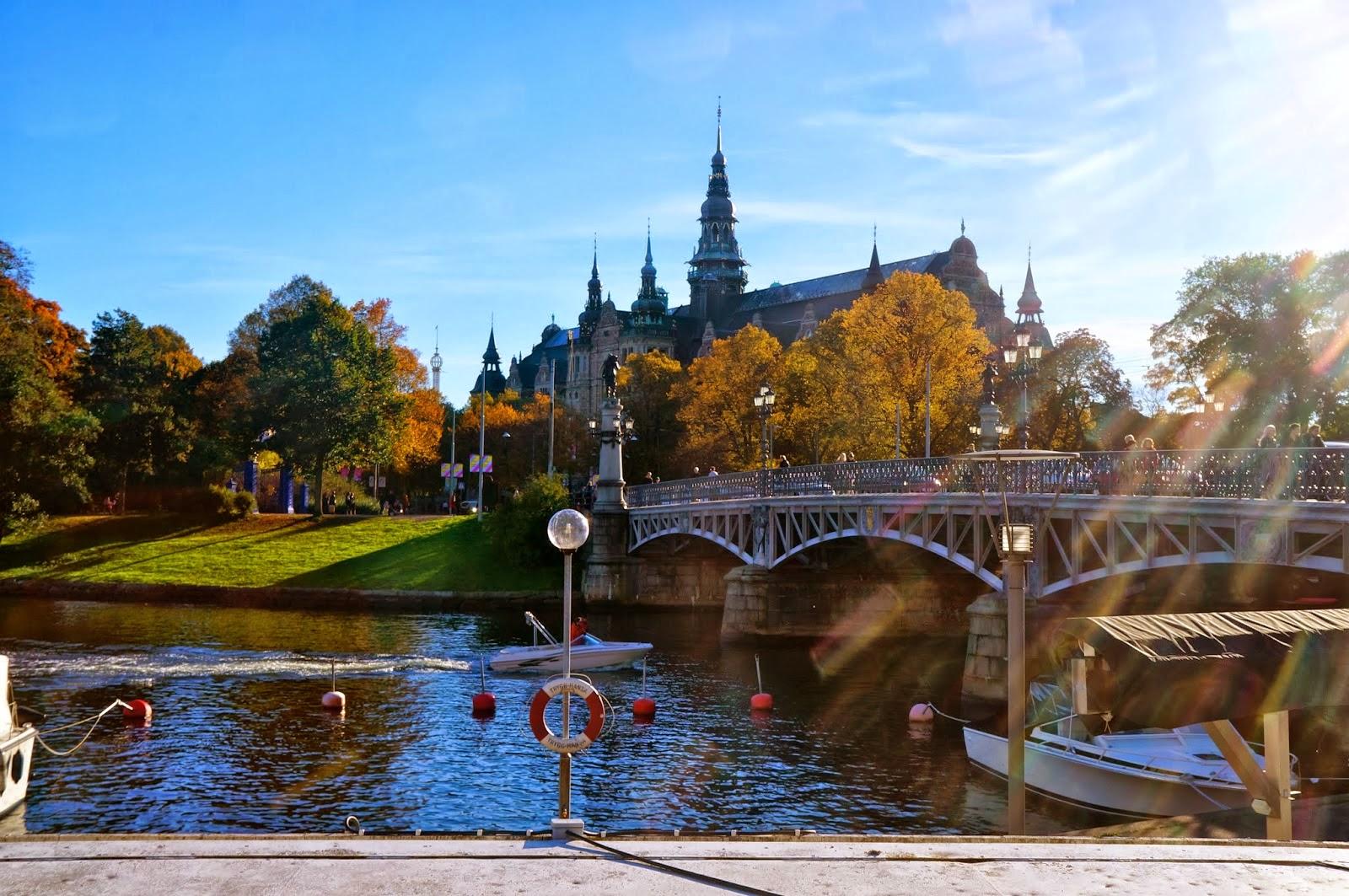 السياحة السويد ومناظرها الخلابه