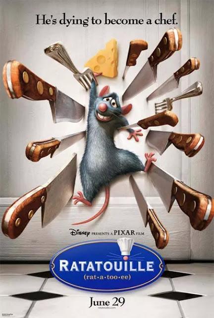 Cartel película de Pixar Animation Studios Ratatouille
