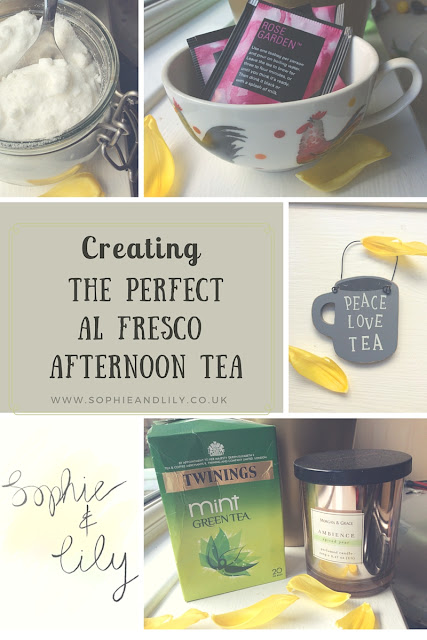 Creating the perfect al fresco afternoon tea