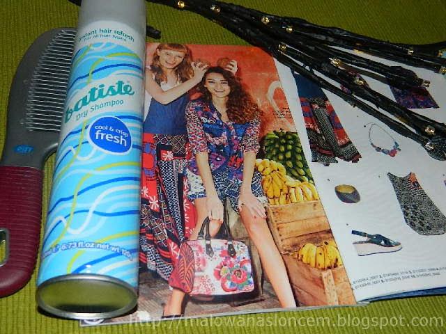 batiste suchy szampon dry shampoo cool & crisp fresh