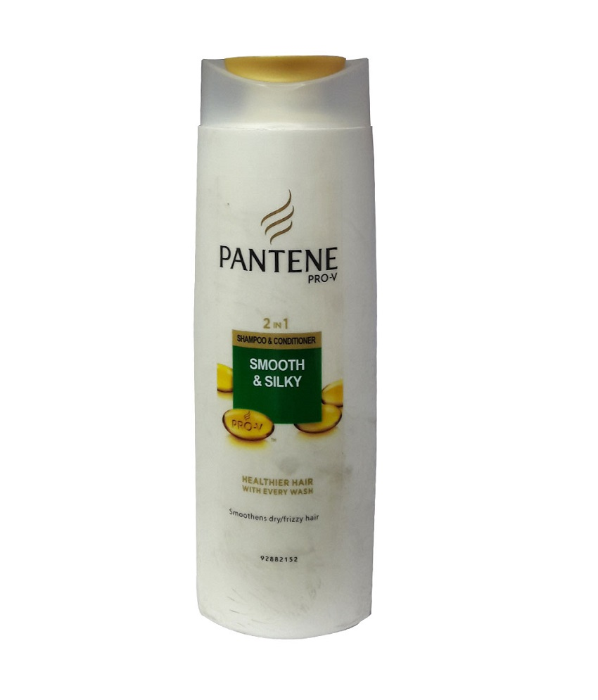 Pantene Smooth And Silky 2 In 1 Shampoo 400 ml