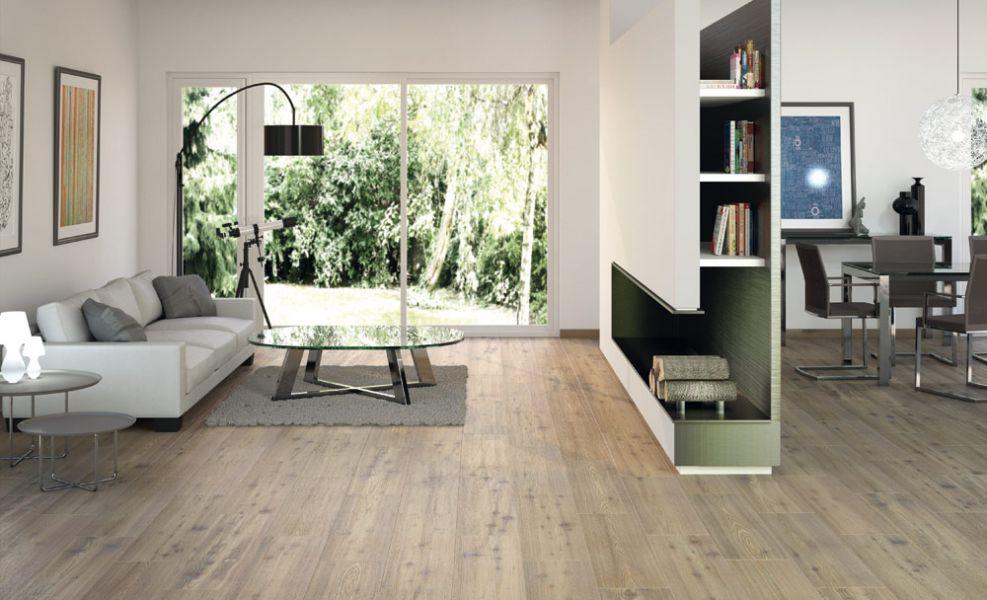 fliesen wohnzimmer holzoptik - ideen modernen minimalistischen hause,