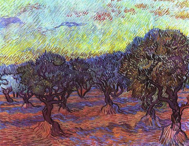 Van Gogh orchard