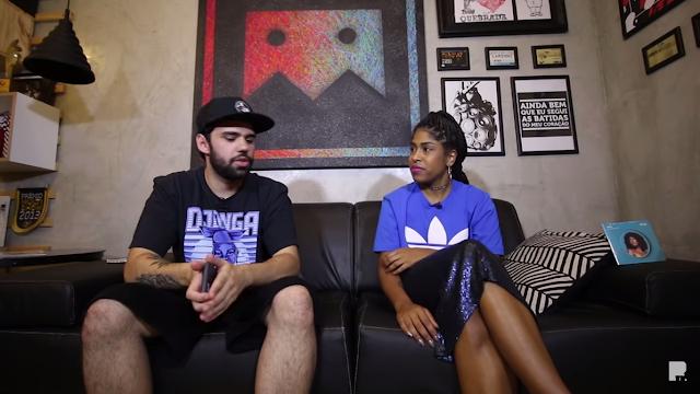 Drik Barbosa é entrevistada pelo RapTV  #ACERCA