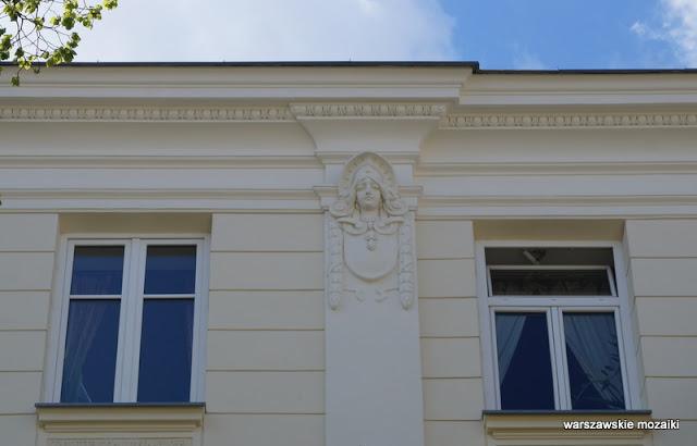 Warszawa Warsaw Stary Mokotów ulica kamienice lata 30 architektura