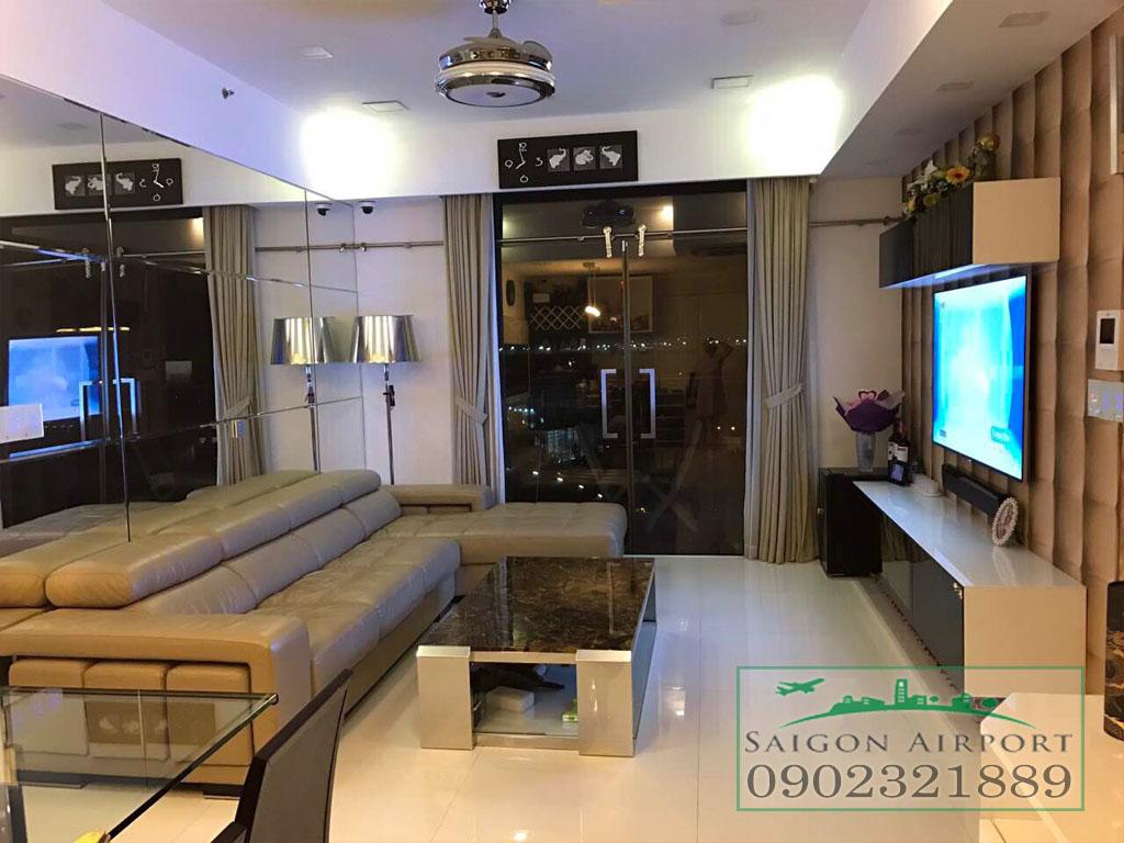 Bán căn hộ Saigon Airport 3 phòng ngủ tầng 9