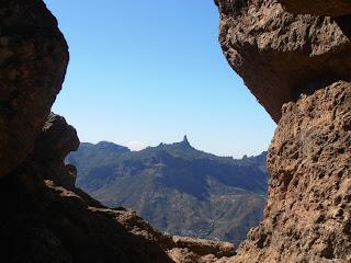 vistas del Roque Nublo