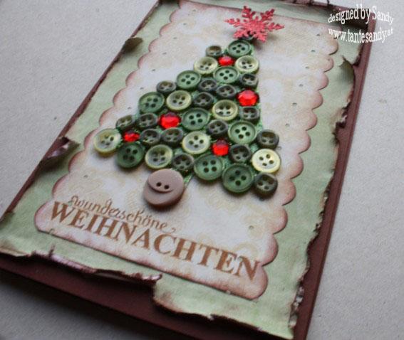 Weihnachtskarten Mit Knöpfen.Tante Sandy Design The Queen Of Bristol Die Scrapperin 3 Mach