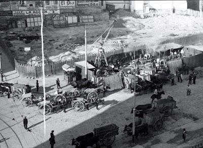 Construcción del Metro de Madrid - 1917