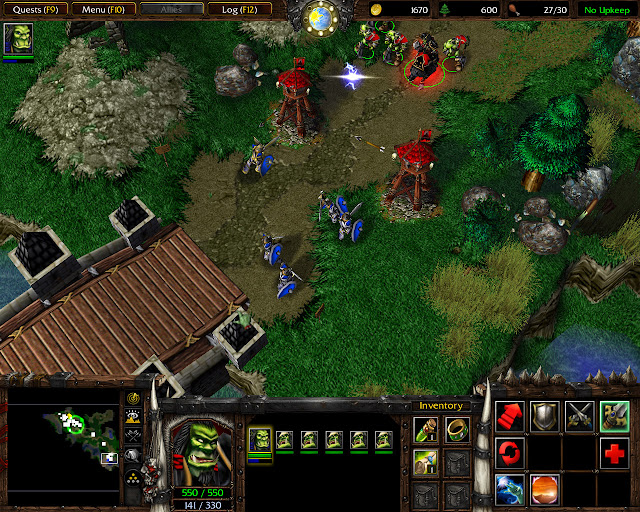 Departures Mission 2 | Group Screenshot | Warcraft 3: Reign of Chaos