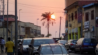 Its hot during the day in Equatorial Guinea