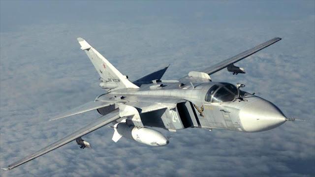 EEUU pide que cazas rusos no sobrevuelen sus buques