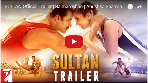 Sultan Movie Official Trailer Released  | Watch/Download Official Trailer Of Sultan Movie