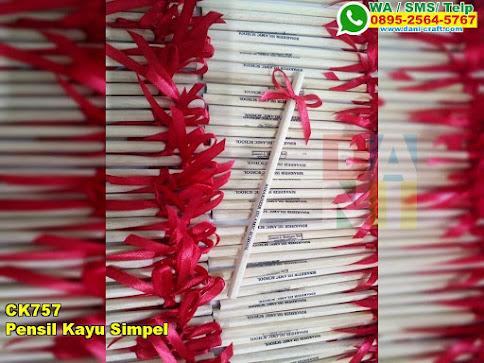 Grosir Pensil Kayu Simpel