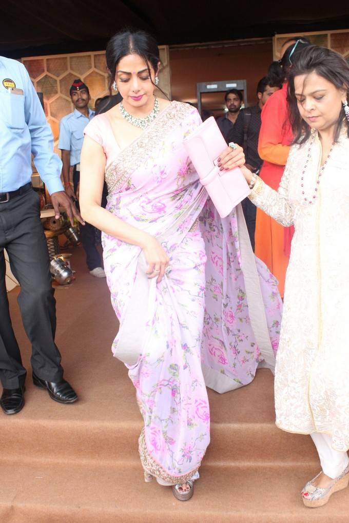 Sridevi at Women Entrepreneuers Exhibition at NSCI Dome