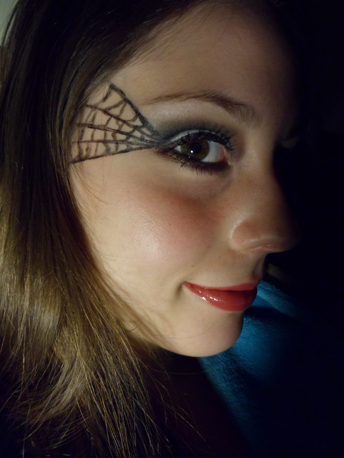 Luhivy's Favorite Things: Halloween Makeup : Spider Web