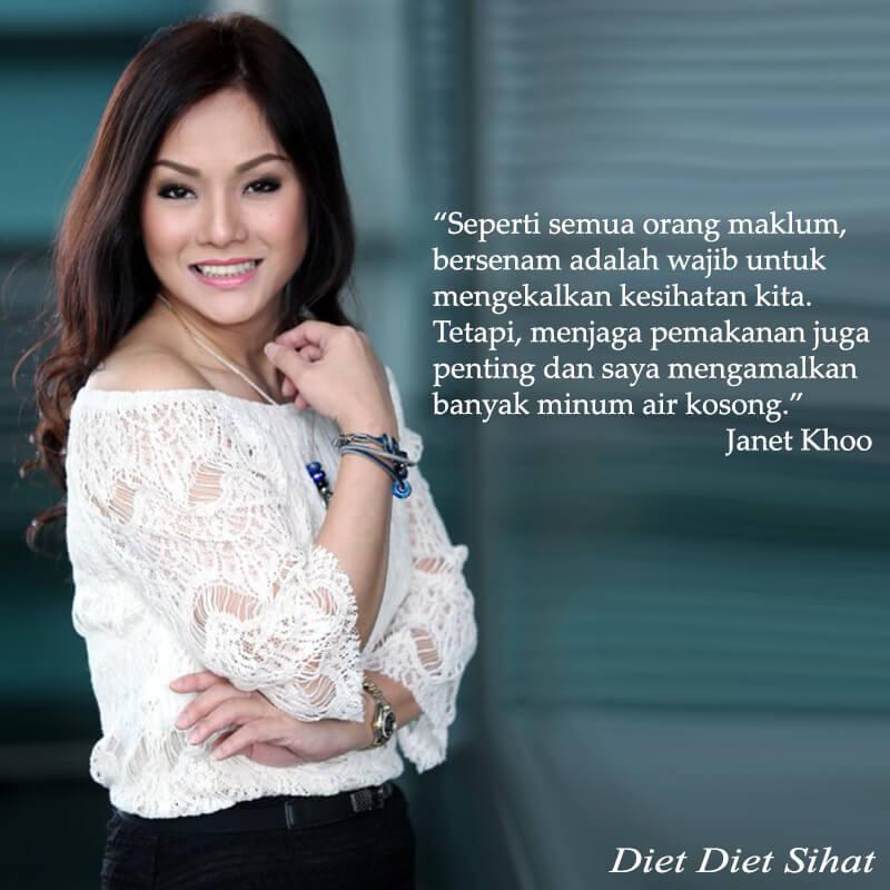 Rahsia Janet Khoo Kekal Cantik