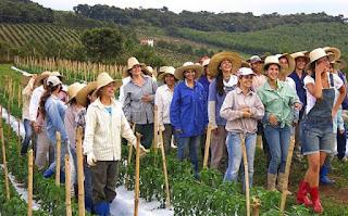 Mulheres na Agricultura