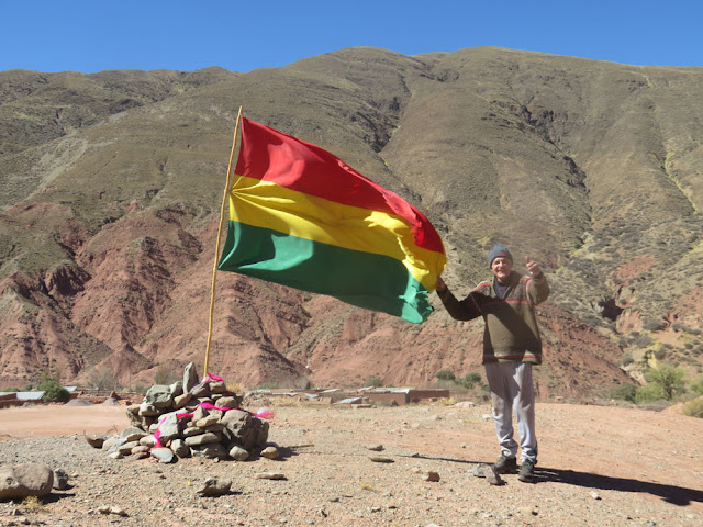 Blick auf Esmoraca Bolivien