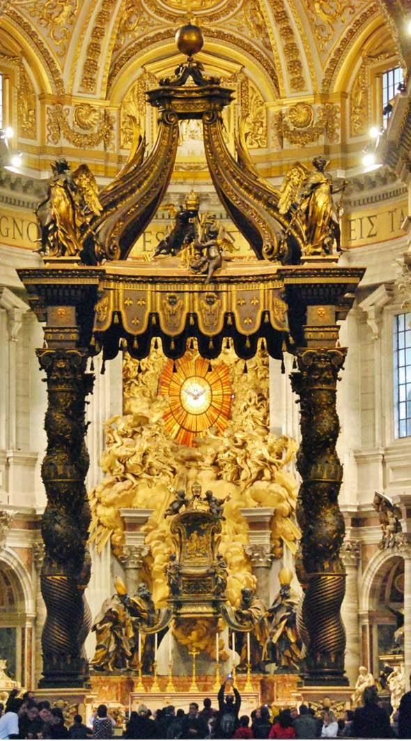 Espíritu Santo en la basílica de San Pedro