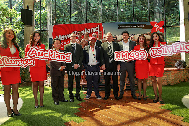 Launch of AirAsia X Flights to Auckland New Zealand