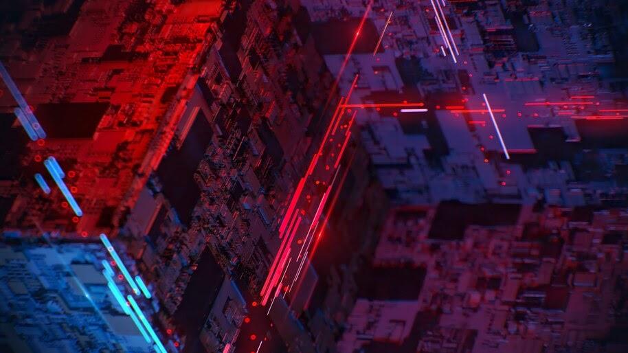 Cube, Abstract, Digital Art, 4K, #4.324