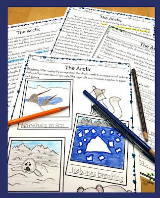 Winter Activities for Upper Elementary