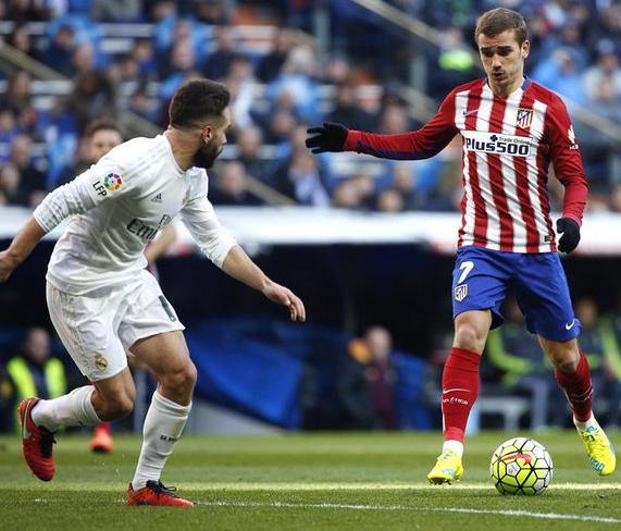 Atletico Madrid Menauai Kemenangan