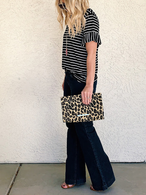 Flair jeans outfit