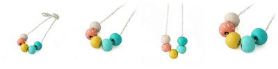 Colourful Beaded Necklace by Lottie Of London Jewellery