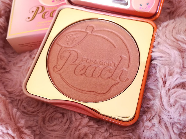 Blush Papa don't Peach de Too Faced