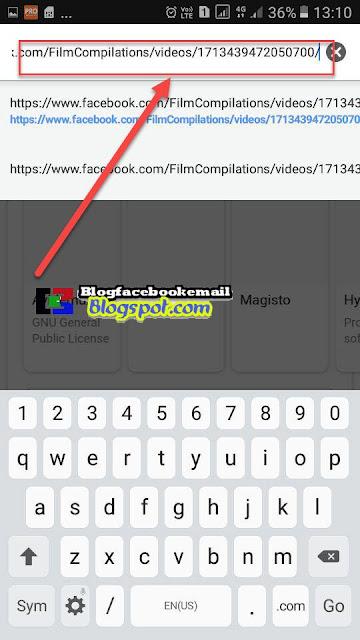 cara download video fb di chrome