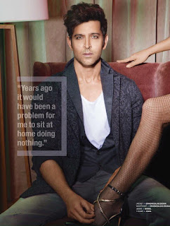 Hrithik Roshan looks stunning Young in The Man Magazine January 2017 Must See