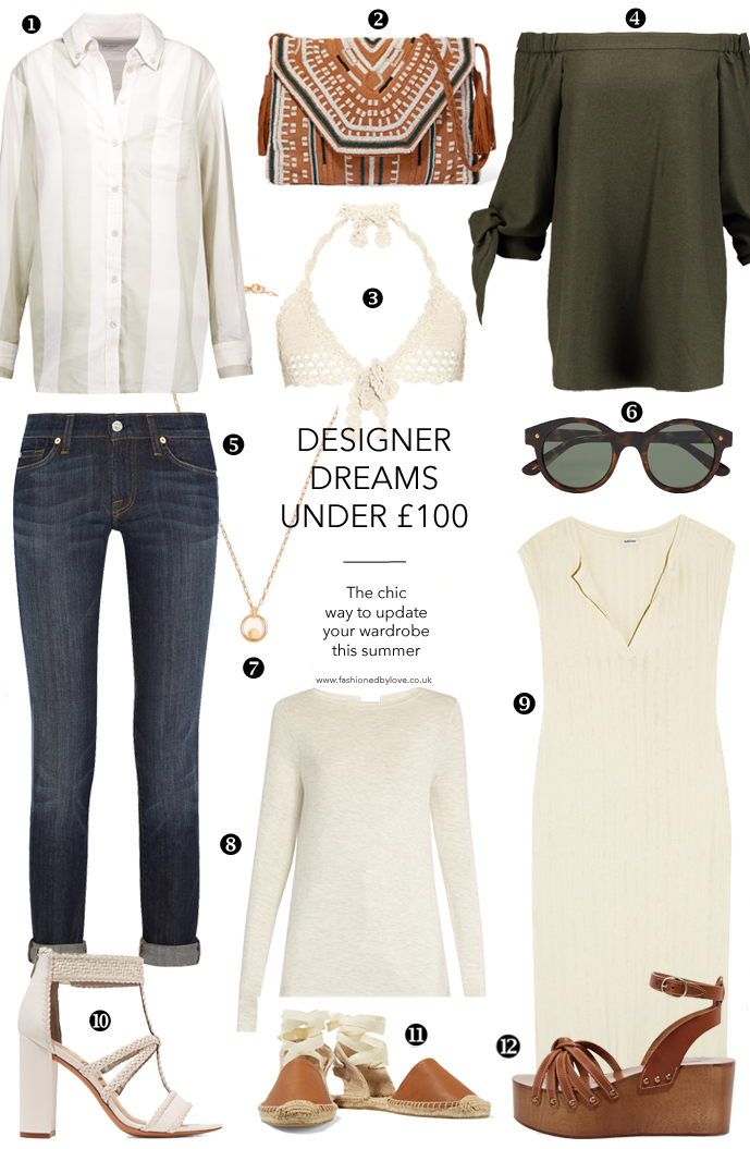 best of designer sales for under £100 / shopping via fashionedbylove.co.uk british fashion blog