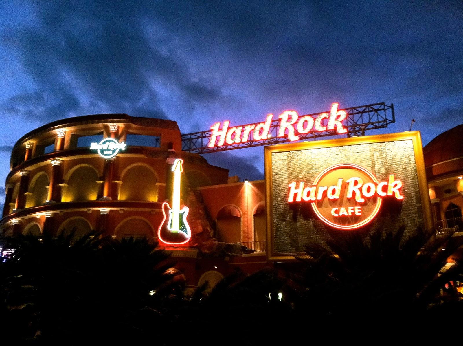 Hard Rock Cafe - My Travel Guilty Pleasure ~ The World of Deej