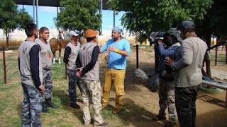 Richard Rasmussen passa final de semana gravando seu programa para o Nat Geo em Picuí, Seridó paraibano