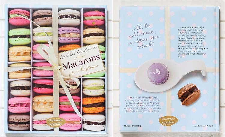 Rezension/Buchvorstellung Macarons für Anfänger von Aurelie Bastian