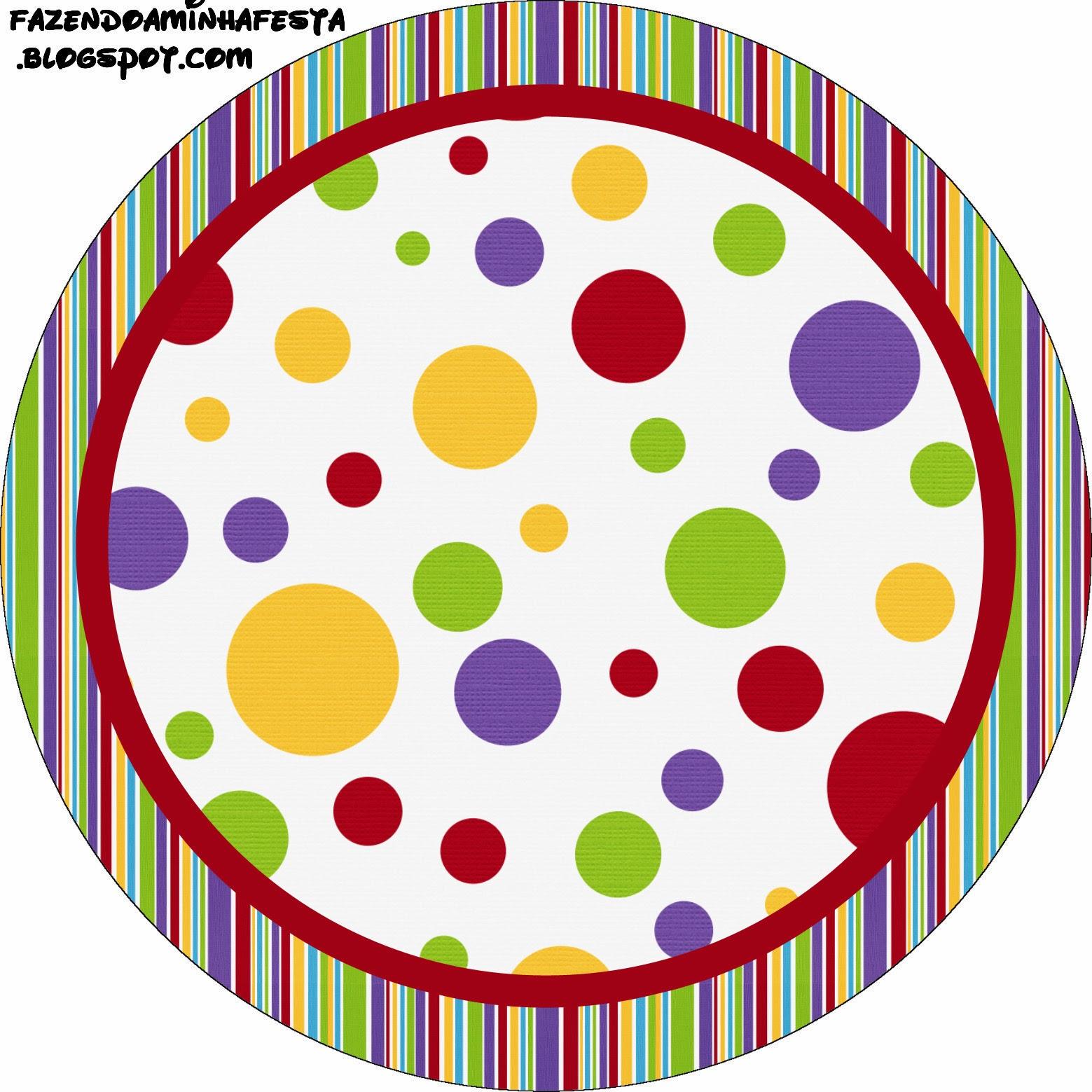 Rojo Morado Verde Y Amarillo Etiquetas Para Candy Bar