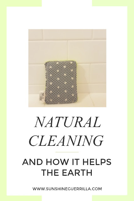 natural cleaning and how it helps the earth