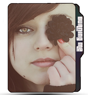 Girl with flower, girl icons, flower girl icons, black flower icons