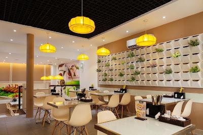 đèn thả bàn ăn cho quán ăn đẹp