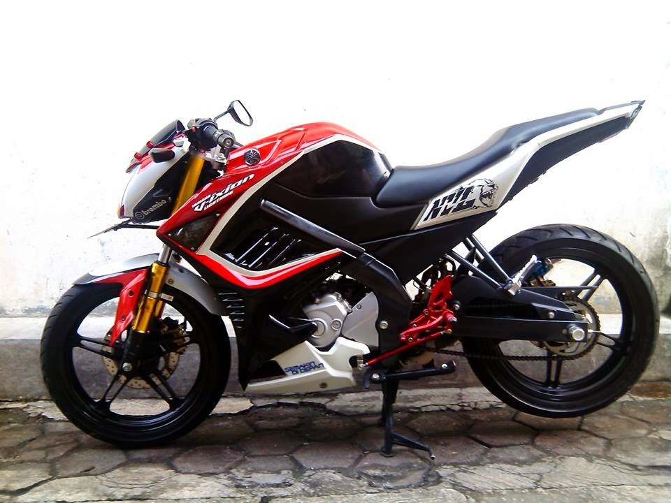 Kumpulan Foto Modifikasi Motor Yamaha Vixion