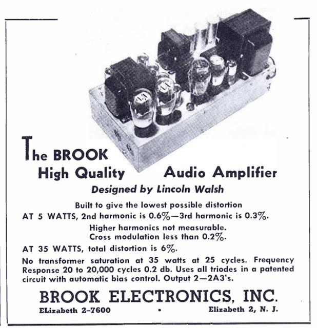 Brook Electronics Advert