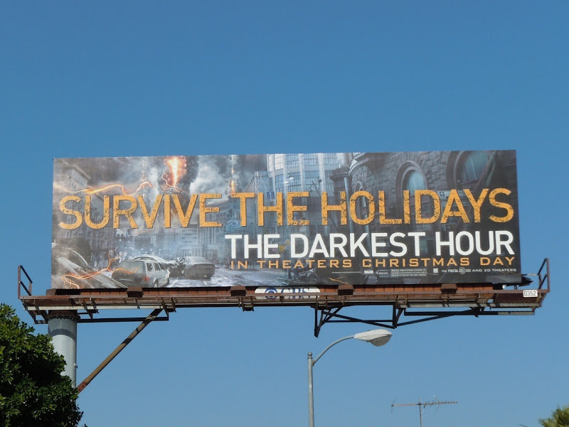 The Darkest Hour movie billboard