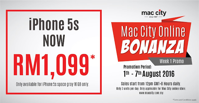 Apple iPhone 5s Discount Clearance Sale Malaysia