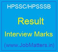 image : HPSSSB Result 2021 - Check Latest HPSSC Result @ JobMatters.in