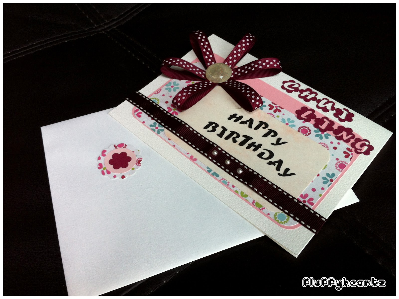 fluffyheartz ♥ personalized birthday cards for female