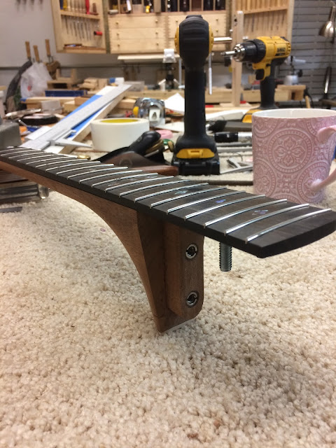 Acoustic Guitar Project (96) - Neck Setting