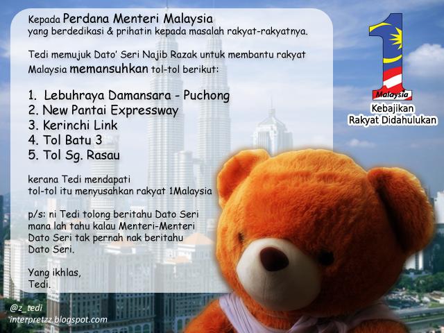 PM Najib tolong mansuh tol ...