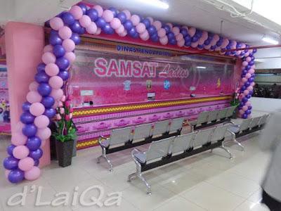 Samsat Ladies - Mall Boemi Kedaton, Lampung
